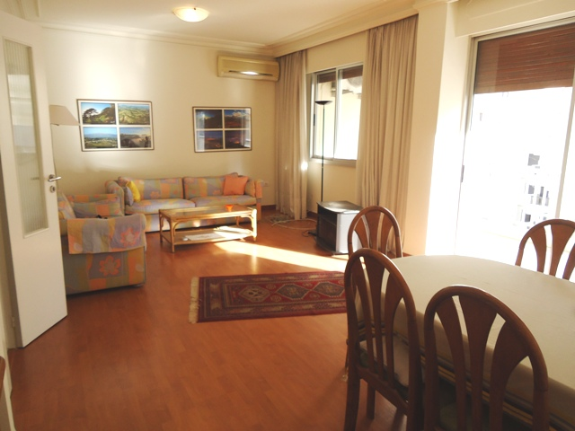 Open Living & dining room with balcony-sassine